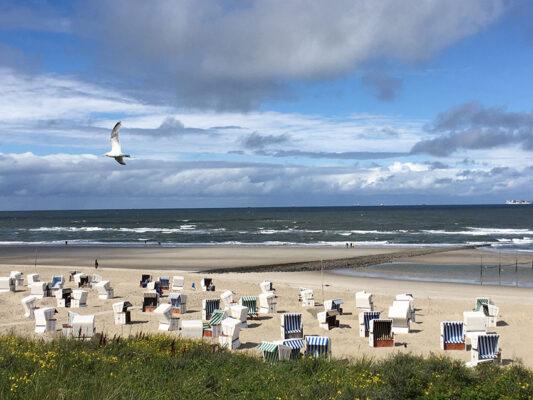 Strand Wangerooge Strandkörbe