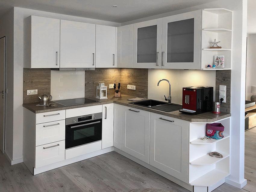 Küche Ferienwohnung Wangerooge