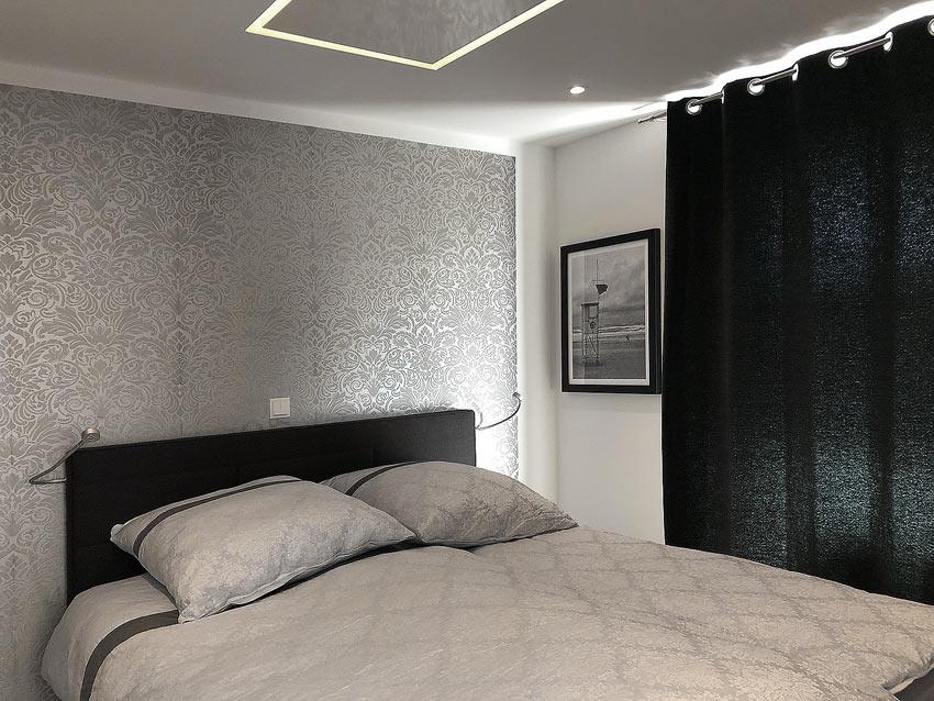 Schlafzimmer Ferienwohnung Wangerooge