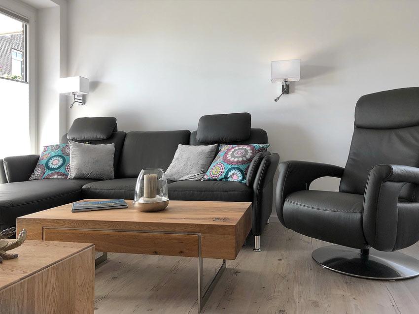 Wohnzimmer Ferienwohnung Wangerooge